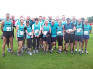Group shot of some of the Pensby Runners
