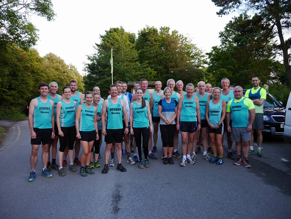 A group of Pensby Runners!